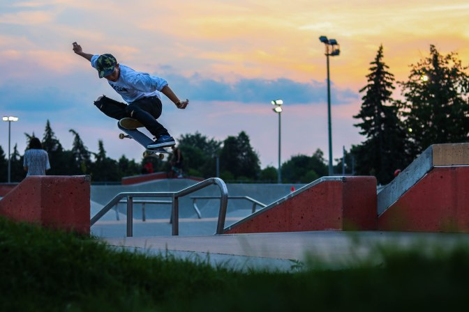 3 Principles of life learned through skateboarding